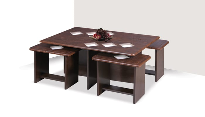 میز جلو مبلی و عسلی چوبی