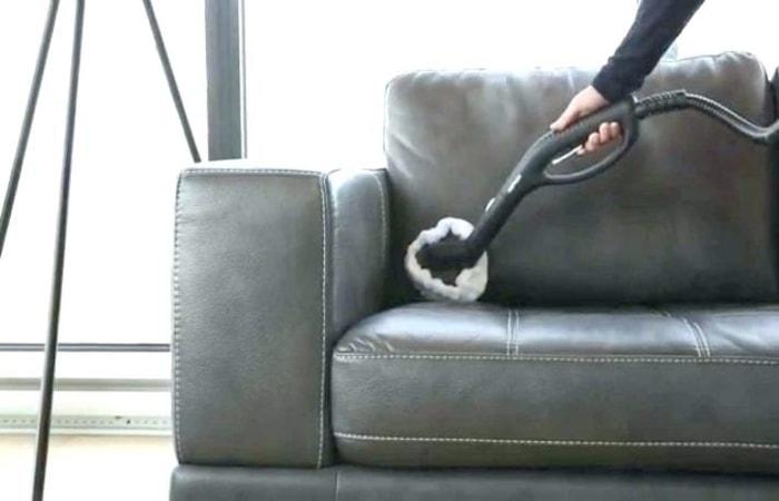 تمیز کردن مبل چرمی