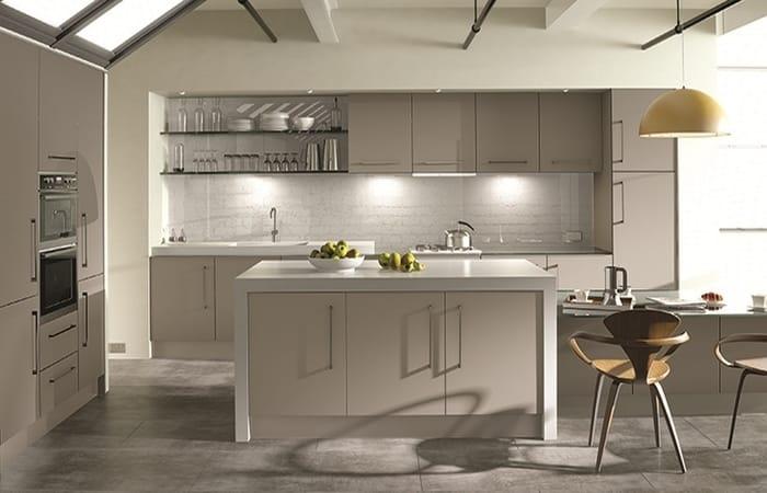 کابینت آشپزخانه ام دی اف با روکش PVC