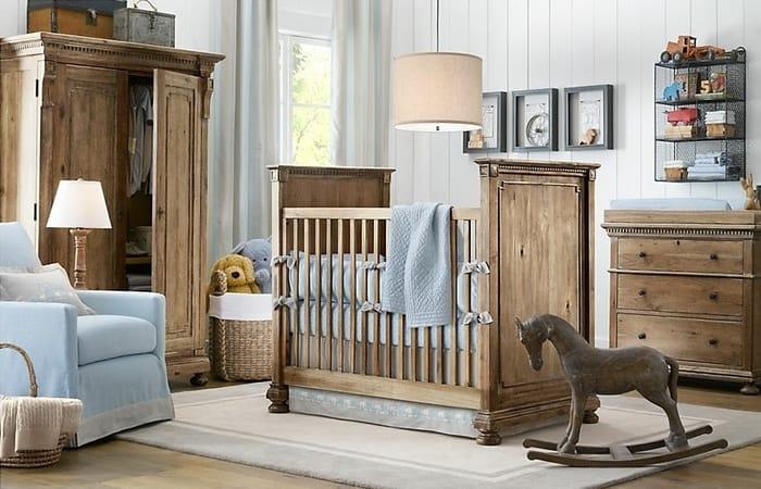 دکوراسیون اتاق کودک پسرانه مدل چوبی