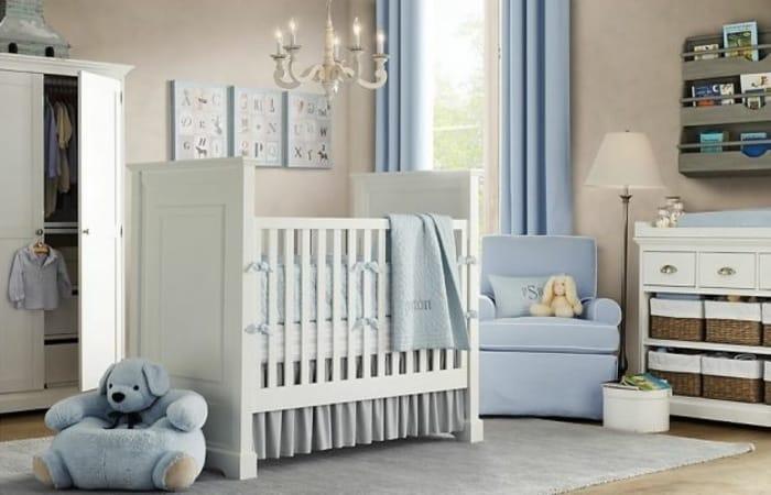 اتاق کودک سفید رنگ